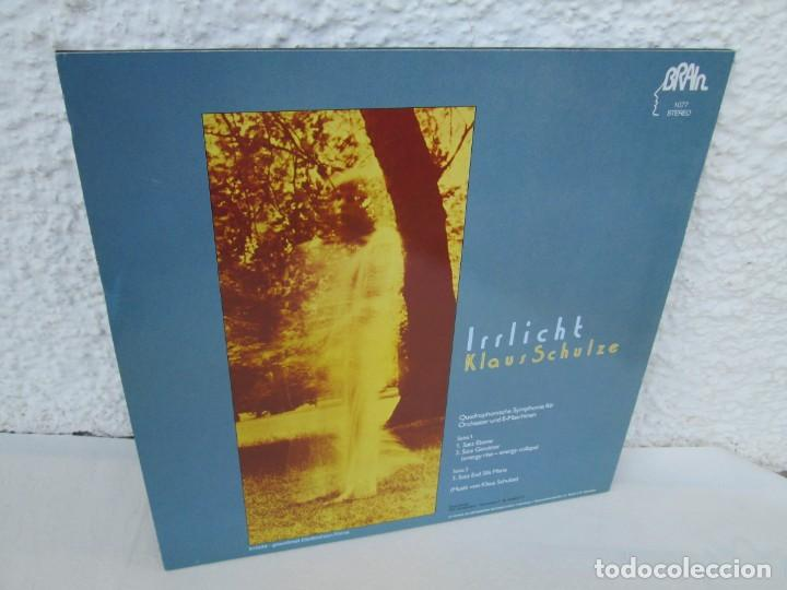 Discos de vinilo: KLAUS SCHULZE. IRRLICHT. LP VINILO. METRONOME RECORDS 1972. VER FOTOGRAFIAS ADJUNTAS - Foto 9 - 171804215