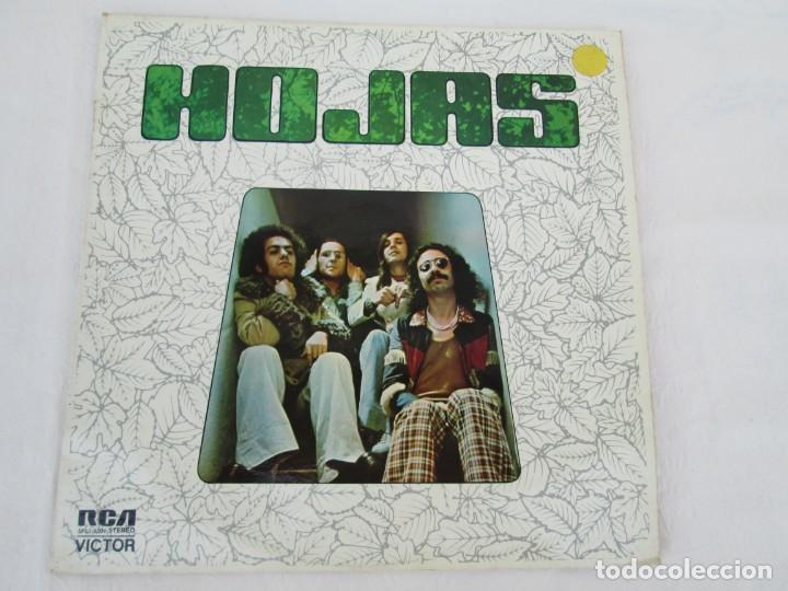 HOJAS. LP VINILO. RCA VICTOR. 1975. VER FOTOGRAFIAS ADJUNTAS (Música - Discos - LP Vinilo - Grupos Españoles de los 70 y 80)