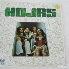 Discos de vinilo: HOJAS. LP VINILO. RCA VICTOR. 1975. VER FOTOGRAFIAS ADJUNTAS. Lote 171804630