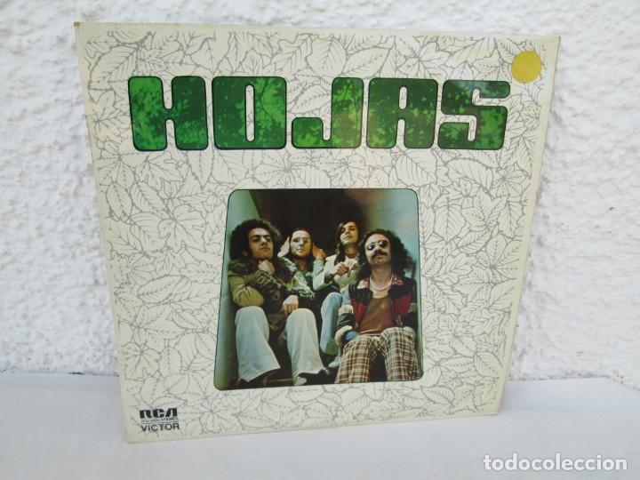Discos de vinilo: HOJAS. LP VINILO. RCA VICTOR. 1975. VER FOTOGRAFIAS ADJUNTAS - Foto 6 - 171804630