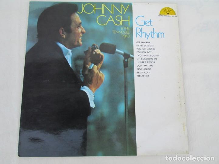 Discos de vinilo: JOHNNY CASH. THE TENNESSEE TWO. GET RHYTHM. LP VINILO. PHILIPS RECORDS SUN 1969. VER FOTOGRAFIAS - Foto 2 - 171804858