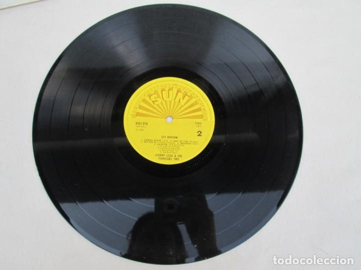 Discos de vinilo: JOHNNY CASH. THE TENNESSEE TWO. GET RHYTHM. LP VINILO. PHILIPS RECORDS SUN 1969. VER FOTOGRAFIAS - Foto 5 - 171804858