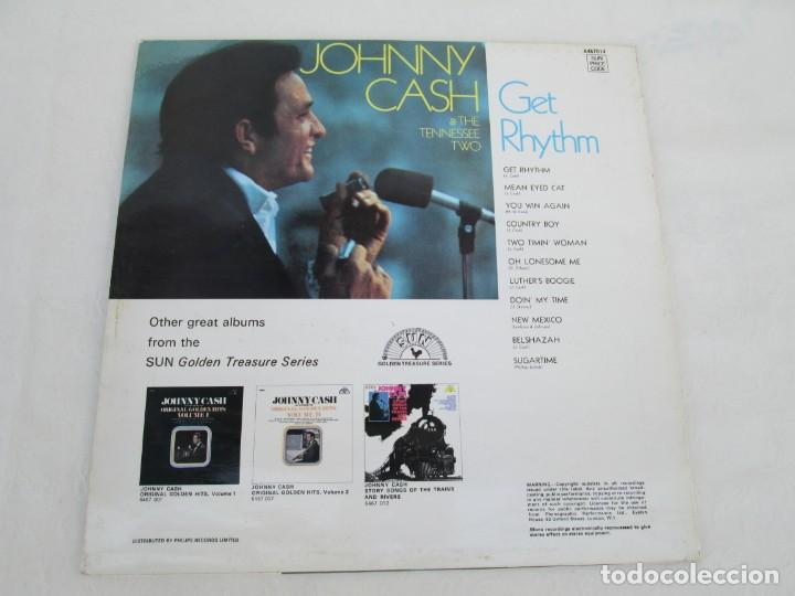 Discos de vinilo: JOHNNY CASH. THE TENNESSEE TWO. GET RHYTHM. LP VINILO. PHILIPS RECORDS SUN 1969. VER FOTOGRAFIAS - Foto 8 - 171804858