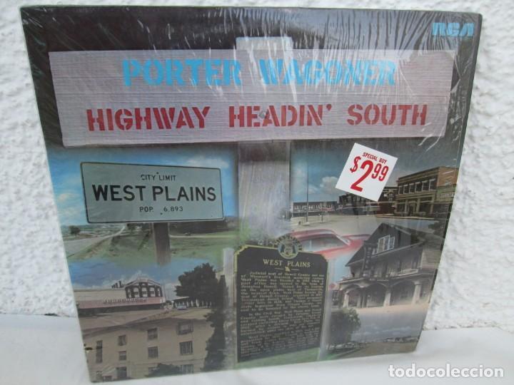 PORTER WAGONER. HIGHWAY HEADIN´SOUTH. LP VINILO. RCA RECORDS 1974. VER FOTOGRAFIAS ADJUNTAS (Música - Discos - LP Vinilo - Country y Folk)