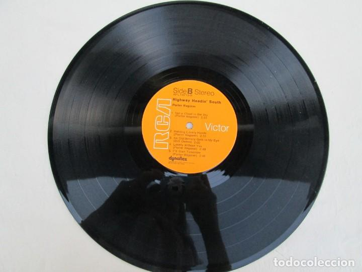 Discos de vinilo: PORTER WAGONER. HIGHWAY HEADIN´SOUTH. LP VINILO. RCA RECORDS 1974. VER FOTOGRAFIAS ADJUNTAS - Foto 5 - 171805112