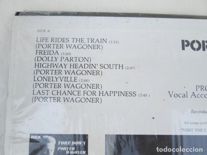 Discos de vinilo: PORTER WAGONER. HIGHWAY HEADIN´SOUTH. LP VINILO. RCA RECORDS 1974. VER FOTOGRAFIAS ADJUNTAS - Foto 7 - 171805112