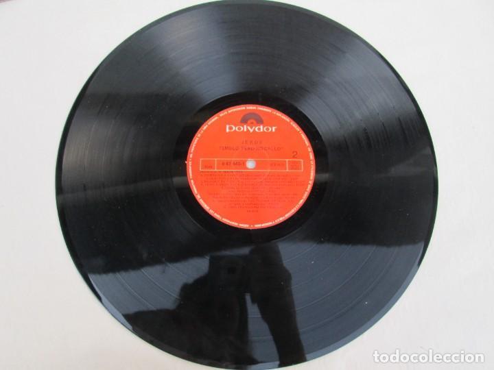 Discos de vinilo: JEROS. TEMBLO PERO NO CALLO. LP VINILO. POLYGRAM IBERICA 1990. VER FOTOGRAFIAS ADJUNTAS - Foto 5 - 171805237
