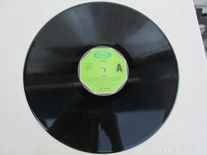 Discos de vinilo: NUESTRA PALABRA VOL 3. DISCURSO EN LA PALZA DE LA REVOLUCION 22 DIC 75. FIDEL CASTRO. LP VINILO - Foto 3 - 171805424