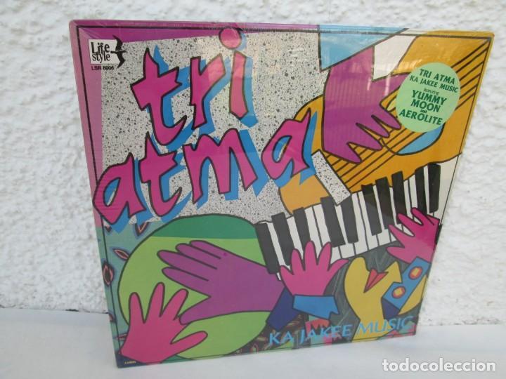 TRI ATMA. KA JAKEE MUSIC. LP VINILO. NUEVO SIN DESPRECINTAR. THE MOSS MUSIC GROUP. LIFE STYLE. (Música - Discos - LP Vinilo - Otros estilos)