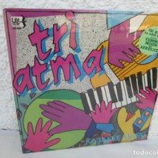 Discos de vinilo: TRI ATMA. KA JAKEE MUSIC. LP VINILO. NUEVO SIN DESPRECINTAR. THE MOSS MUSIC GROUP. LIFE STYLE. . Lote 171805878