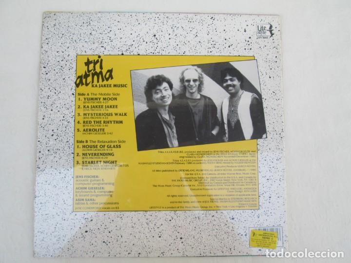 Discos de vinilo: TRI ATMA. KA JAKEE MUSIC. LP VINILO. NUEVO SIN DESPRECINTAR. THE MOSS MUSIC GROUP. LIFE STYLE. - Foto 4 - 171805878