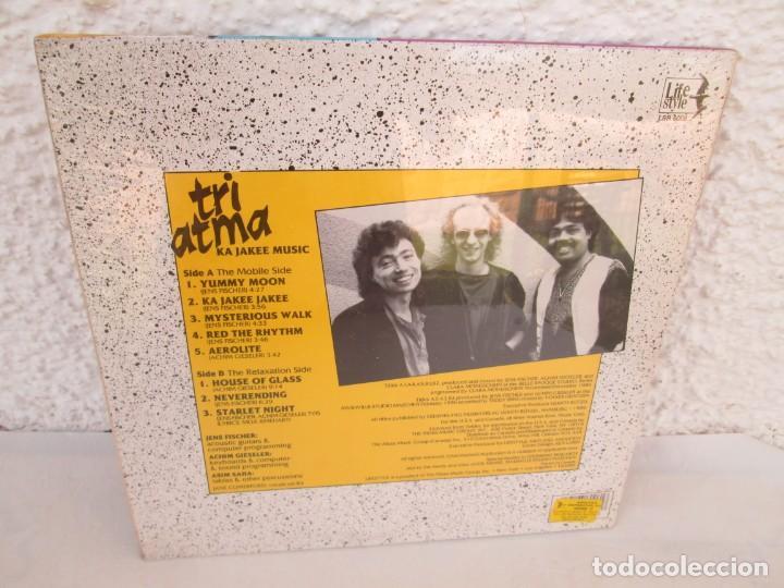 Discos de vinilo: TRI ATMA. KA JAKEE MUSIC. LP VINILO. NUEVO SIN DESPRECINTAR. THE MOSS MUSIC GROUP. LIFE STYLE. - Foto 5 - 171805878