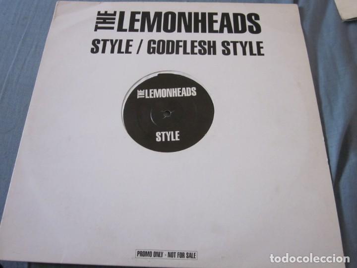 THE LEMONHEADS - STYLE - MAXI PROMOCIONAL. (Música - Discos de Vinilo - Maxi Singles - Pop - Rock Extranjero de los 90 a la actualidad)