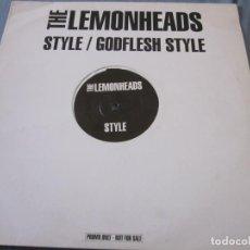 Discos de vinilo: THE LEMONHEADS - STYLE - MAXI PROMOCIONAL.. Lote 171809774