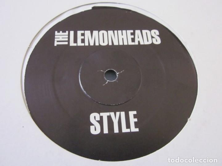 Discos de vinilo: THE LEMONHEADS - STYLE - MAXI PROMOCIONAL. - Foto 2 - 171809774