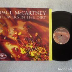 Discos de vinilo: PAUL MCCARTNEY FLOEWERS IN THE DIRT LP. Lote 171813520