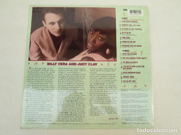 Discos de vinilo: BILLY VERA AND JUDY CLAY. THE ATLANTIC YEARS. LP VINILO. NUEVO SIN DESPRECINTAR. RHINO RECORDS 1987. - Foto 4 - 171815683
