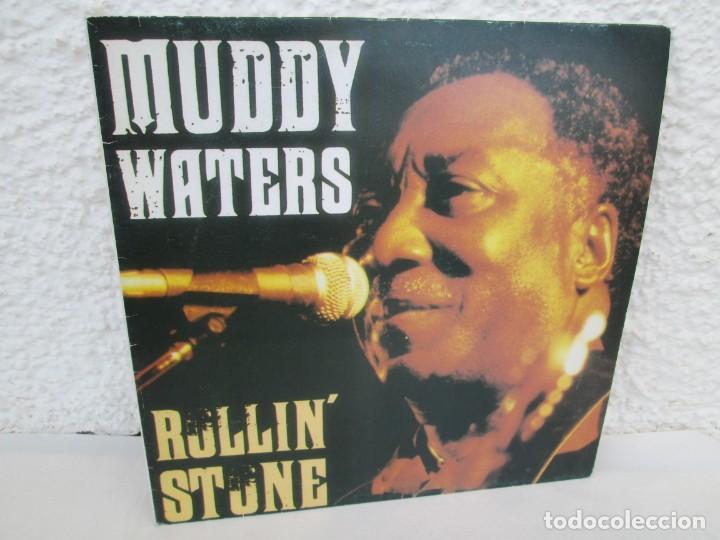 MUDDY WATERS. ROLLIN´STONE. LP VINILO. SOLO CONTIENE EL DISCO 2. ZAFIRO SERDISCO 1991. VER FOTOS (Música - Discos - LP Vinilo - Jazz, Jazz-Rock, Blues y R&B)