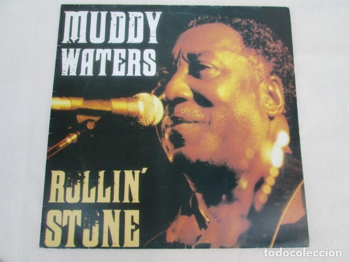 Discos de vinilo: MUDDY WATERS. ROLLIN´STONE. LP VINILO. SOLO CONTIENE EL DISCO 2. ZAFIRO SERDISCO 1991. VER FOTOS - Foto 2 - 171816723