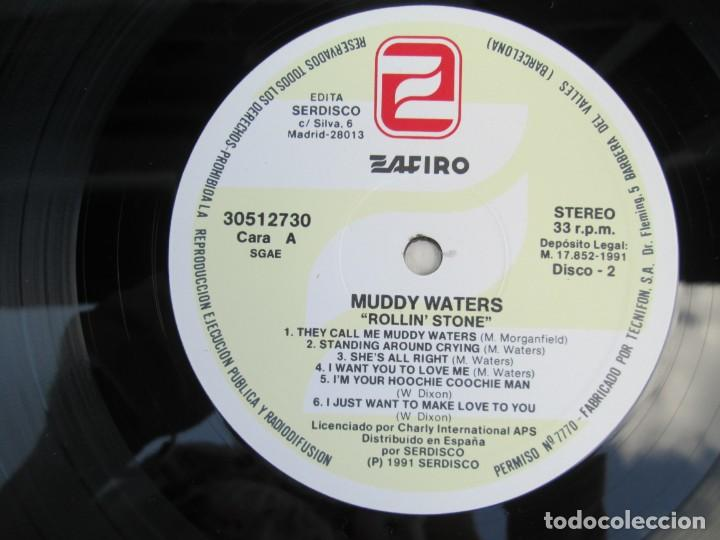 Discos de vinilo: MUDDY WATERS. ROLLIN´STONE. LP VINILO. SOLO CONTIENE EL DISCO 2. ZAFIRO SERDISCO 1991. VER FOTOS - Foto 4 - 171816723