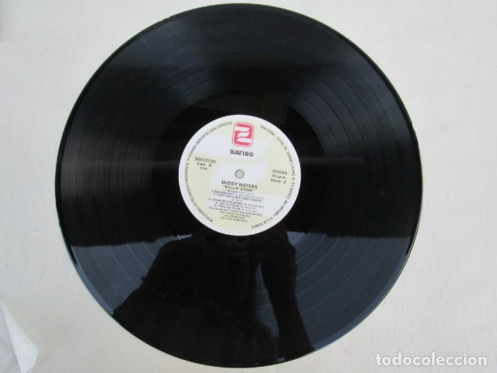 Discos de vinilo: MUDDY WATERS. ROLLIN´STONE. LP VINILO. SOLO CONTIENE EL DISCO 2. ZAFIRO SERDISCO 1991. VER FOTOS - Foto 5 - 171816723