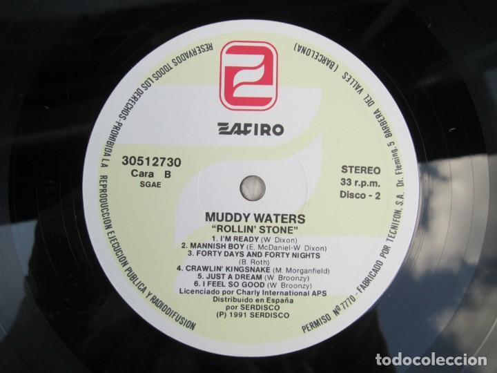 Discos de vinilo: MUDDY WATERS. ROLLIN´STONE. LP VINILO. SOLO CONTIENE EL DISCO 2. ZAFIRO SERDISCO 1991. VER FOTOS - Foto 6 - 171816723