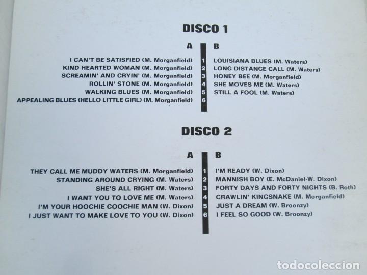 Discos de vinilo: MUDDY WATERS. ROLLIN´STONE. LP VINILO. SOLO CONTIENE EL DISCO 2. ZAFIRO SERDISCO 1991. VER FOTOS - Foto 7 - 171816723