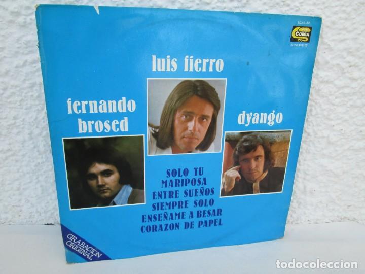 LUIS FIERRO. FERNANDO BROSED. DYANGO. LP VINILO. DIFESCO 1978. VER FOTOGRAFIAS ADJUNTAS (Música - Discos - LP Vinilo - Otros estilos)
