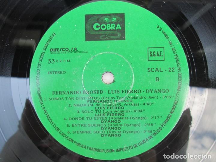Discos de vinilo: LUIS FIERRO. FERNANDO BROSED. DYANGO. LP VINILO. DIFESCO 1978. VER FOTOGRAFIAS ADJUNTAS - Foto 6 - 171817718