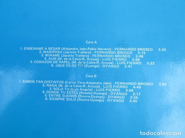 Discos de vinilo: LUIS FIERRO. FERNANDO BROSED. DYANGO. LP VINILO. DIFESCO 1978. VER FOTOGRAFIAS ADJUNTAS - Foto 7 - 171817718
