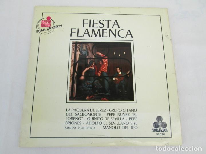 Discos de vinilo: FIESTA FLAMENCA. LA PAQUERA DE JEREZ.. LP VINILO. TREBOL 1970. VER FOTOGRAFIAS ADJUNTAS - Foto 2 - 171818047