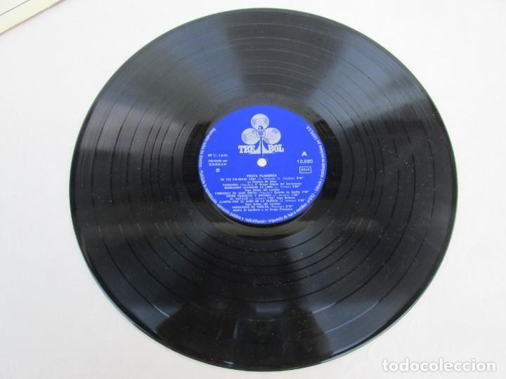 Discos de vinilo: FIESTA FLAMENCA. LA PAQUERA DE JEREZ.. LP VINILO. TREBOL 1970. VER FOTOGRAFIAS ADJUNTAS - Foto 3 - 171818047