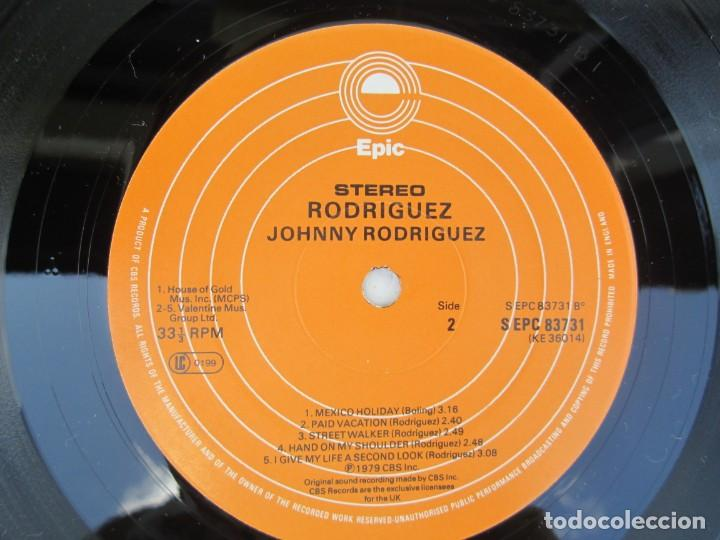 Discos de vinilo: JOHNNY RODRIGUEZ. LP VINILO. EPIC CBS 1979. VER FOTOGRAFIAS ADJUNTAS - Foto 6 - 171818728
