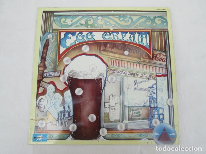 Discos de vinilo: EGG CREAM. ANDY ADAMS & EGG CREAM. LP VINILO MARFER PYRAMID 1977. VER FOTOGRAFIAS ADJUNTAS - Foto 2 - 171819293