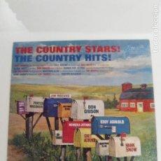 Discos de vinilo: THE COUNTRY STARS THE COUNTRY HITS ( 1963 RCA CAMDEN USA ) CHET ATKINS HANK SNOW HOMER JETHRO. Lote 171824753
