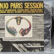 Discos de vinilo: LP. BANJO PARIS SESSION. Lote 171829054