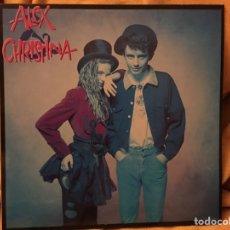 Discos de vinilo: ALEX & CHRISTINA - ALEX & CHRISTINA (LP, ALBUM) (WEA 242395 1) EXCELENTE ESTADO. Lote 171832362
