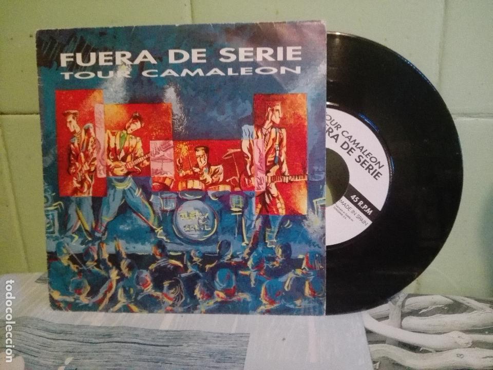 FUERA DE SERIE -TOUR CAMALEÓN. MEDIANUECHE (DRUMMERS-PRINCIPAU D´ASTURIES, 1990)-ASTURIAS PEPETO (Música - Discos - Singles Vinilo - Grupos Españoles de los 90 a la actualidad)
