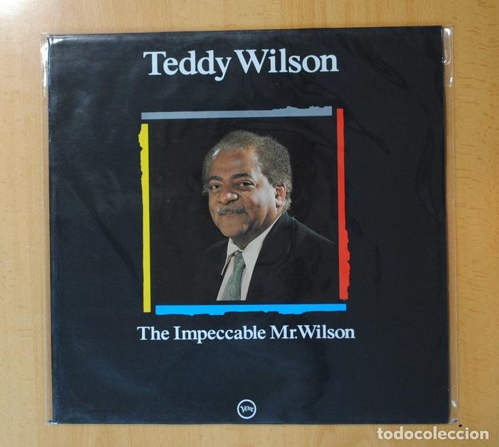 TEDDY WILSON - THE IMPECCABLE MR. WILSON - LP (Música - Discos - LP Vinilo - Jazz, Jazz-Rock, Blues y R&B)