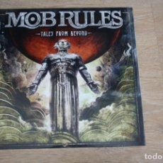 Discos de vinilo: MOB RULES, TALES FROM BEYOND, DOBLE LP,+ CD, DOBLE PORTADA, PRECINTADO.. Lote 171943123