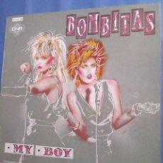 Discos de vinilo: THE BOMBITAS- MAXI-SINGLE DE VINILO- TITULO MY BOY- 3 TEMAS- ORIGINAL DEL 86- TOTALMENTE NUEVO. Lote 171947513