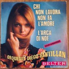Discos de vinilo: ORQUESTA DIEGO SANTILLAN SINGLE BELTER EXCELENTE. Lote 171966789