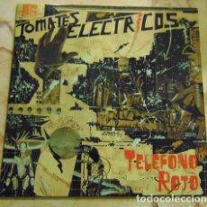 Disques de vinyle: TOMATES ELÉCTRICOS – TELÉFONO ROJO - EP VINILO COLOR. Lote 171971527