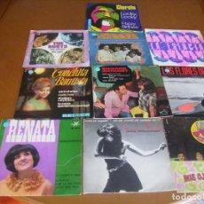 Discos de vinilo: LOTE D 10 SINGLES Y EP'S EDICION ESPAÑOLA AÑOS 60 / 70 BUEN ESTADO. Lote 171972629