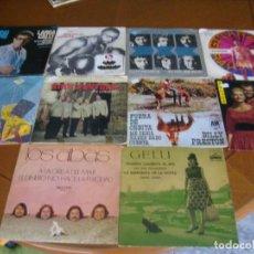 Discos de vinilo: LOTE D 10 SINGLES Y EP'S EDICION ESPAÑOLA AÑOS 60 / 70 BUEN ESTADO. Lote 171972899