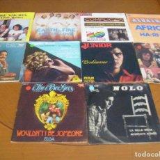 Discos de vinilo: LOTE D 10 SINGLES Y EP'S EDICION ESPAÑOLA AÑOS 60 / 70 BUEN ESTADO. Lote 171972957
