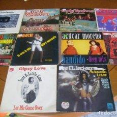 Discos de vinilo: LOTE D 10 SINGLES Y EP'S EDICION ESPAÑOLA AÑOS 60 / 70 BUEN ESTADO. Lote 171973015