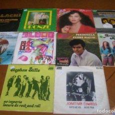 Discos de vinilo: LOTE D 10 SINGLES Y EP'S EDICION ESPAÑOLA AÑOS 60 / 70 BUEN ESTADO. Lote 171973078