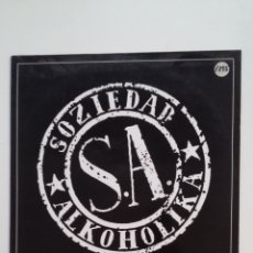 Discos de vinilo: SOZIEDAD ALKOHOLIKA. - SOZIEDAD ALKOHOLIKA LP. TDKDA59. Lote 262554460