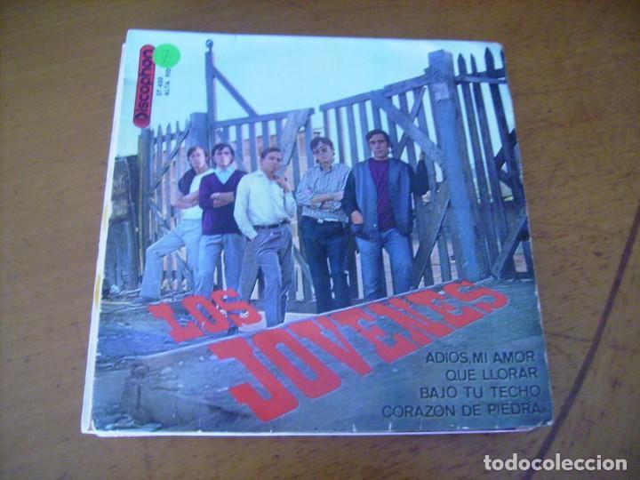 EP : LOS JOVENES / BAJO TU TECHO + 3 DISCOPHON 1965 (Música - Discos de Vinilo - EPs - Grupos Españoles 50 y 60)